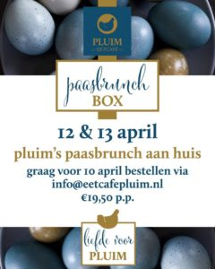 Paasbrunch Box bij Pluim