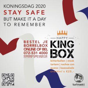 Happy King Box van de Turfmarkt