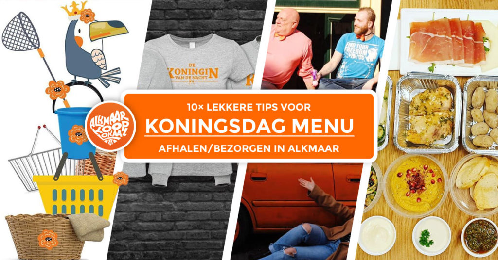 Koningsdag Menu (Facebook)
